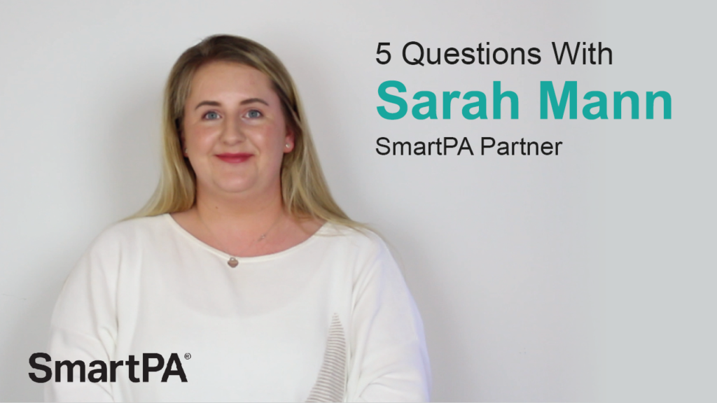 5 Questions with Sarah Mann, SmartPA Partner