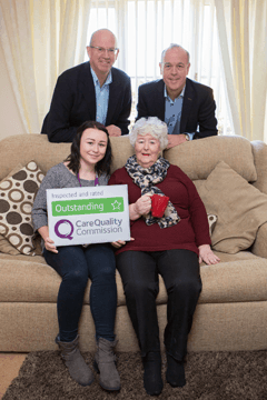 8th CQC outstanding rating for franchisor Home Instead Senior Care