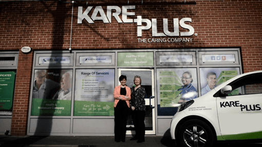 A Caring Person and the Caring Company Means Great Success for Kare Plus Wirral & Liverpool