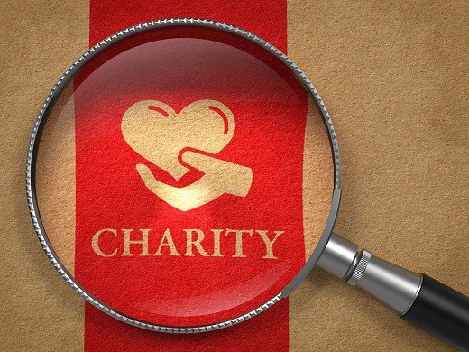 A year of charitable donations