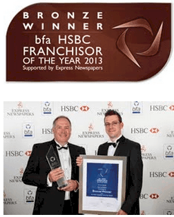 Agency Express brings home the Bronze in the bfa HSBC Franchisor of the Year Awards.