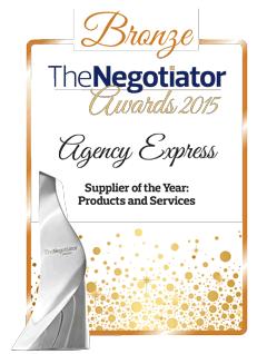 Agency Express Receives Bronze Award at 2015 Negotiator Awards
