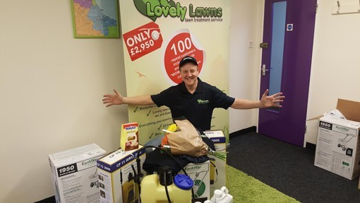 Andy Wills, Lovely Lawns Blackpool franchisee