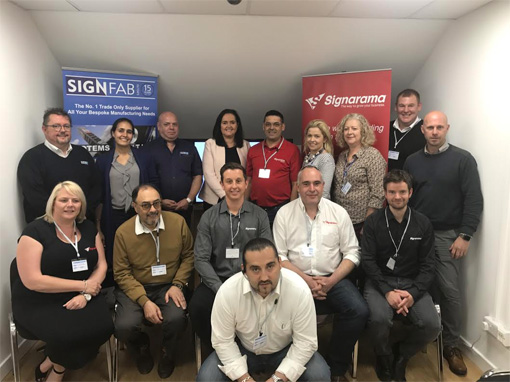 Another Fabulous Signarama Network Meeting at Signfab UK LTD