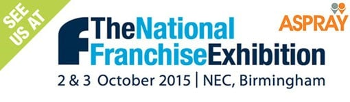 Aspray are exhibiting at the National Franchise Exhibition at the NEC in Birmingham!