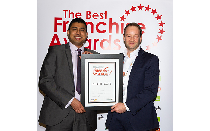 Autosmart is the UK's Best Van-Based Franchise 2018