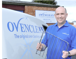BOUNCING BACK FROM REDUNDANCY – The heat is on for Ovenclean franchisee Duncan!