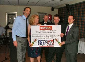Bristol Franchise Partner is crowned Cafe2U Franchise Partner of the Year