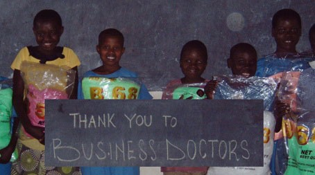 Business Doctor Helps Orphans in Uganda