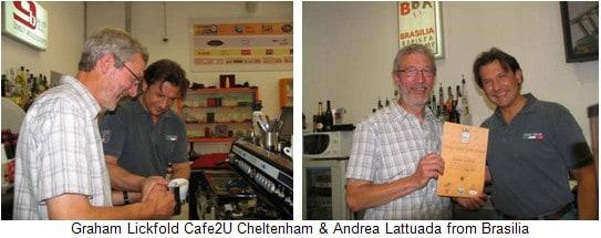 Cafe2U Cheltenham wins Barista of the Year & trip to Milan