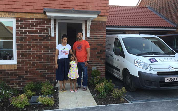 Card Connection Franchisee Buys First Home