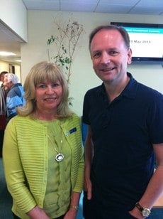 Caremark (Oldham & Tameside) Director meets Chief Exec of NHS England