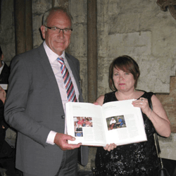 Caremark attends the History of Parliament Trust book launch at Westminster Abbey
