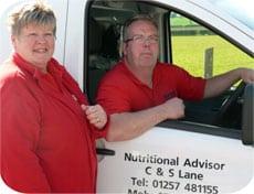 Carole & Steve Lane, Chorley, Lancashire