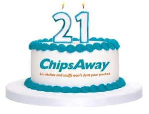 ChipsAway Celebrates 21st Birthday