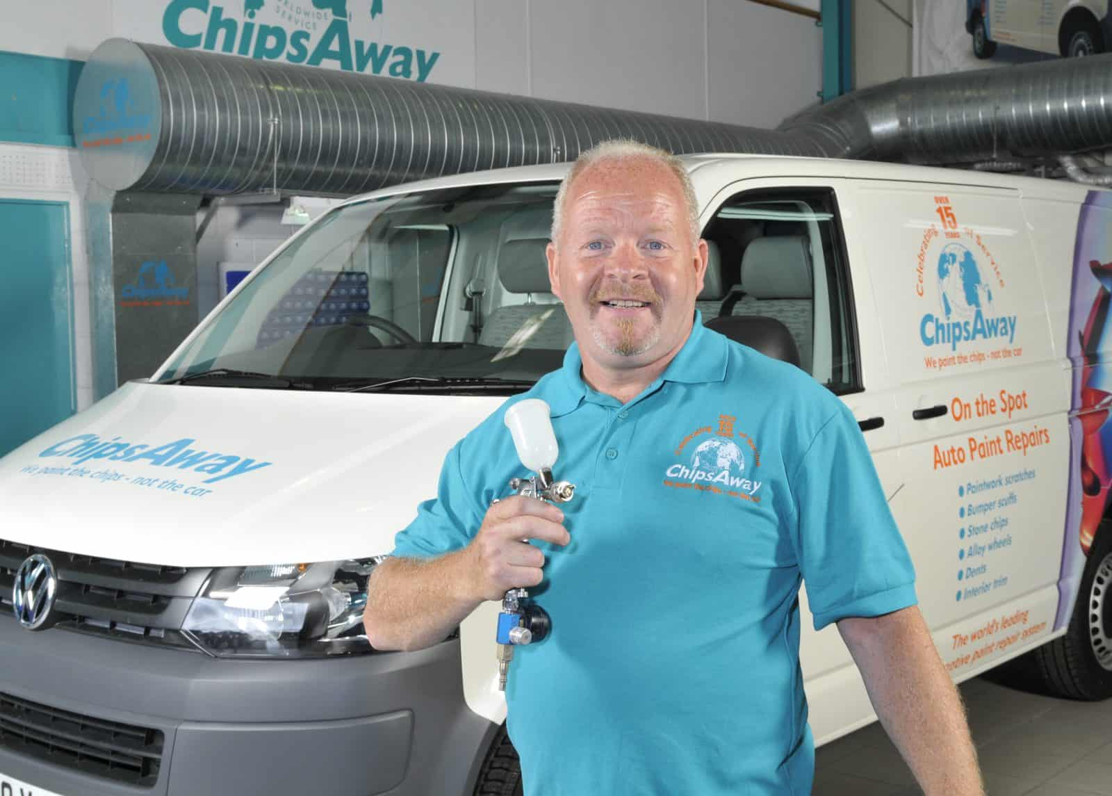 ChipsAway franchisee Alistair has sights set on the big time