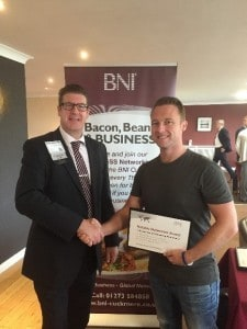 Clean Cut Founder Simon Studd Recognized by BNI