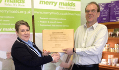 Cleaning Up: Inverness franchise wins top award