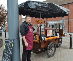 Coffee-Bike: First UK Franchisee Has Started in Trowbridge
