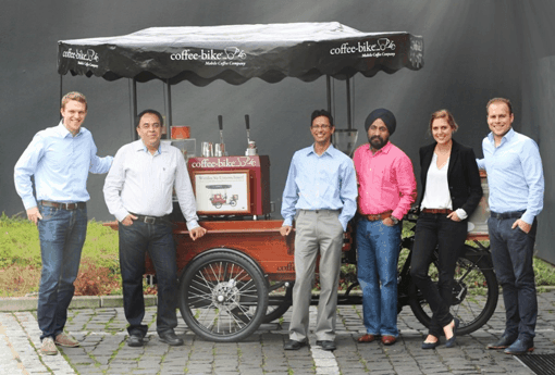 Coffee-Bike Expands with Master Franchisee to India