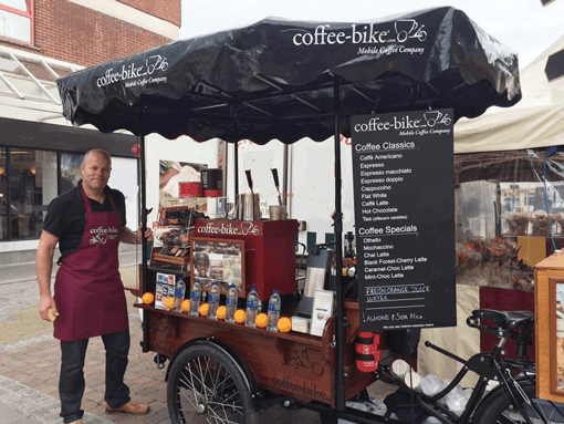 Coffee-Bike is Now Rolling Through Worcester