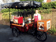 Coffee-Bike now in Hannover