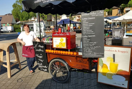 Coffee-Bike now in two more German cities