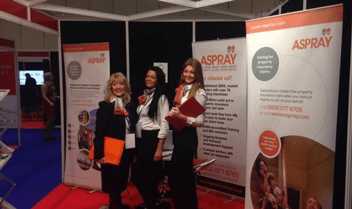 Come and Meet Aspray at the National Franchise Exhibition!