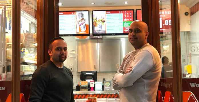 Deepesh and Rakesh: Wrap It Up! Franchisees