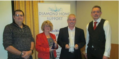 Diamond Home Support Holds 2013 Annual Meeting and Celebrates Success of Devon Franchisee