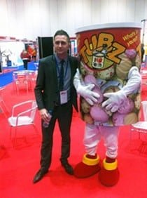 Did You Meet Mr Tubz at the Franchise Show?