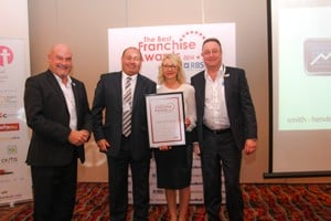 Double Whammy for Business Doctors in 2014 Best Franchise Awards sponsored by RBS