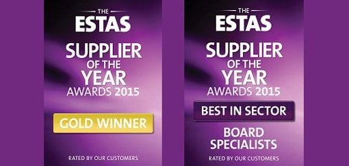 Double win for Agency Express at the 2015 ESTAS awards