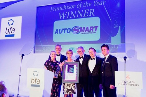 Double Win for Autosmart at the bfa HSBC Franchise Awards