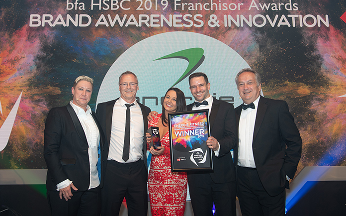 énergie Fitness Claims Major Accolade at Flagship Franchising Awards Event