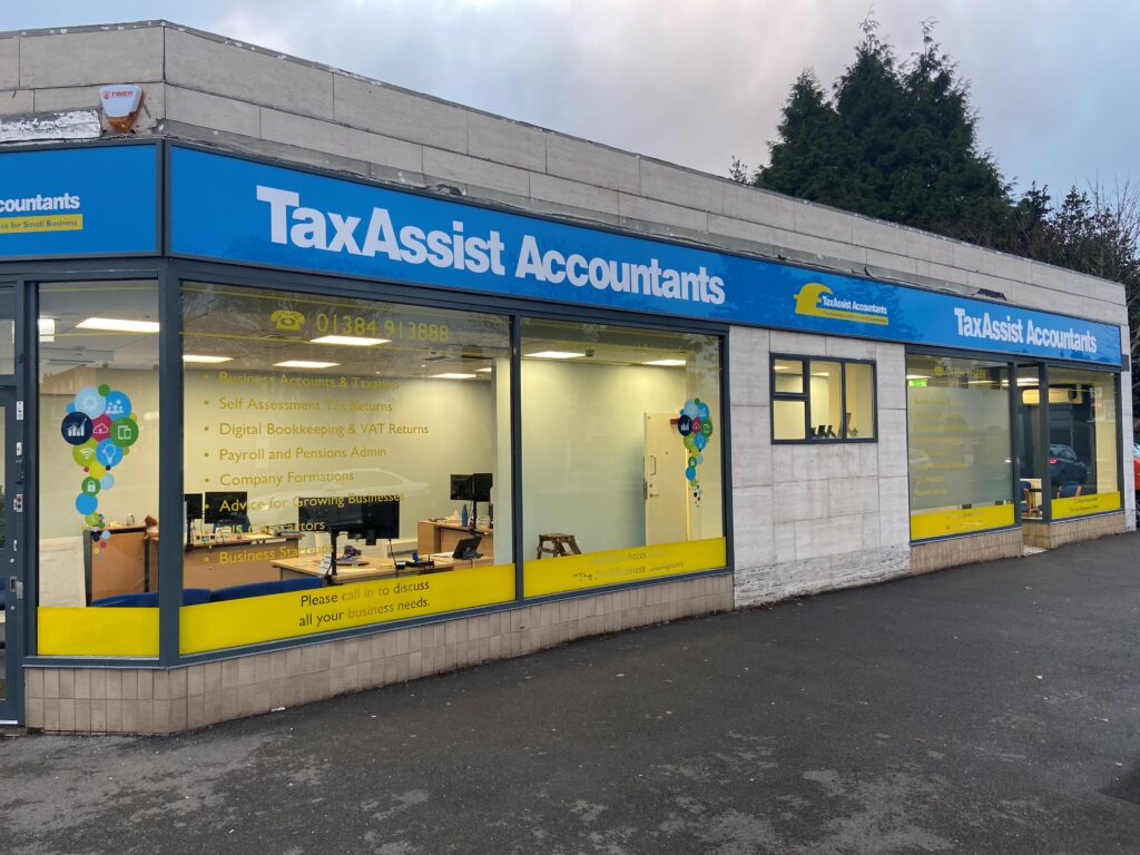 Expansion for TaxAssist Accountants Kingswinford