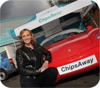 Fabulous new face of ChipsAway unveiled!