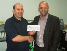 FASTSIGNS Production Manager Wins Holiday Vouchers in Trade Competition