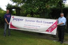 FASTSIGNS Watford waves the banner for Pepper Magic