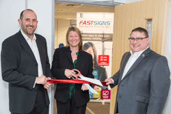 FASTSIGNS® International relocates UK head office to Stafford  and announces new UK Managing Director