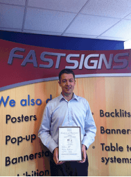 FASTSIGNS® passes with flying colours