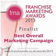Finalists in the 2013 Franchise Marketing Awards