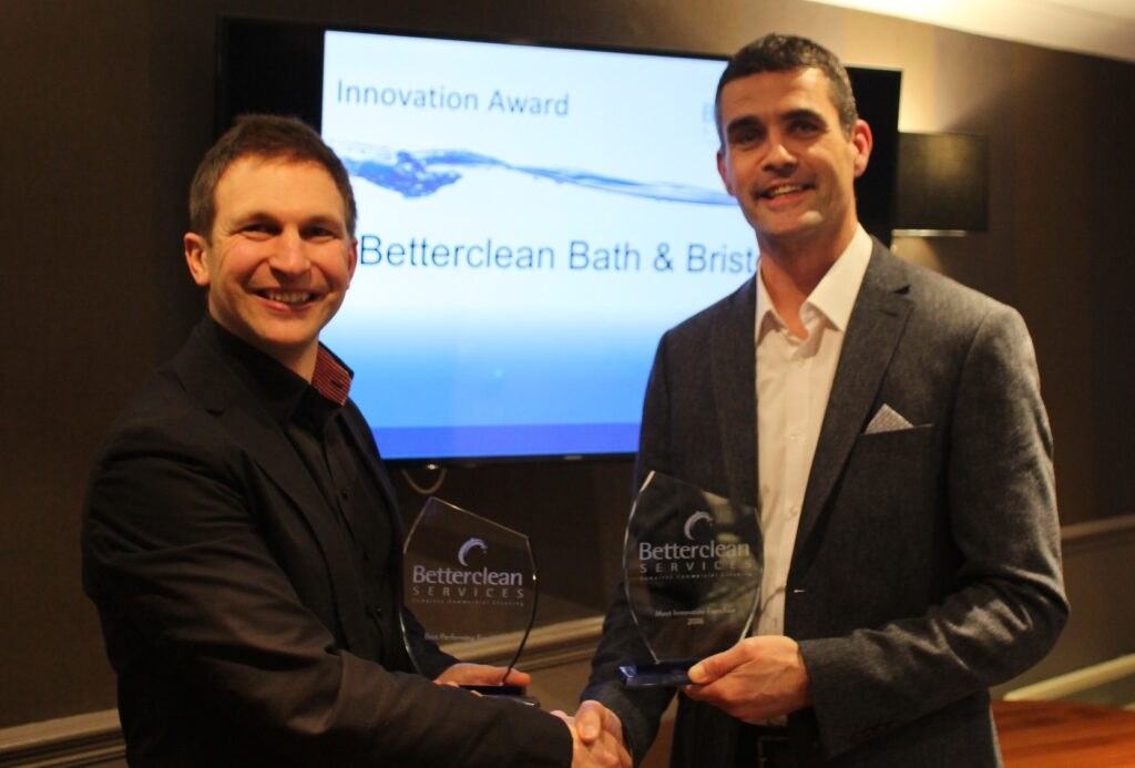 Franchise owners celebrate at inaugural Betterclean Services awards