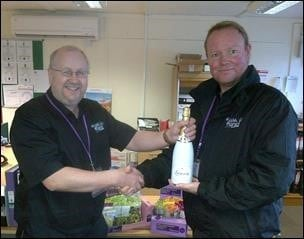Franchisee exceeds sales target in best ever month!