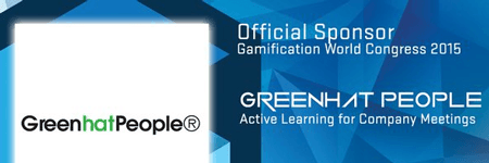 Gamification World Congress 2015 – Green Hat People Office Sponsors