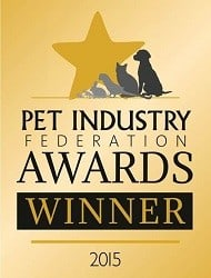 Hat Trick of Awards – Winner of National Pet Industry Federation Awards – Pet Service Business of the Year