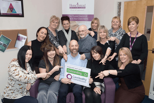 Home Instead Senior Care secures 9th 'Outstanding' rating