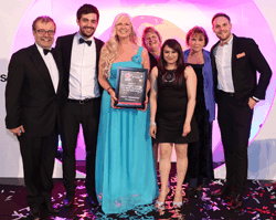 HomeXperts win at the Herefordshire and Worcestershire Chamber of Commerce Awards 2015