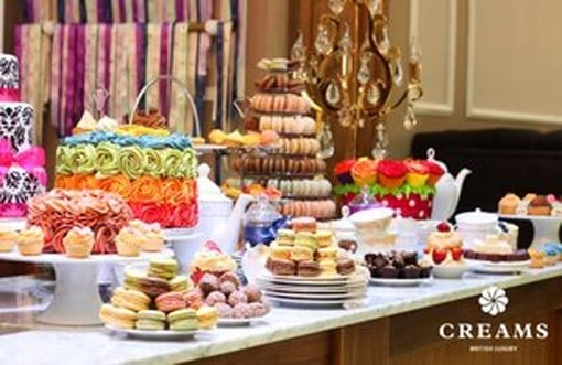 Indulge Your Sweet Tooth at Creams!