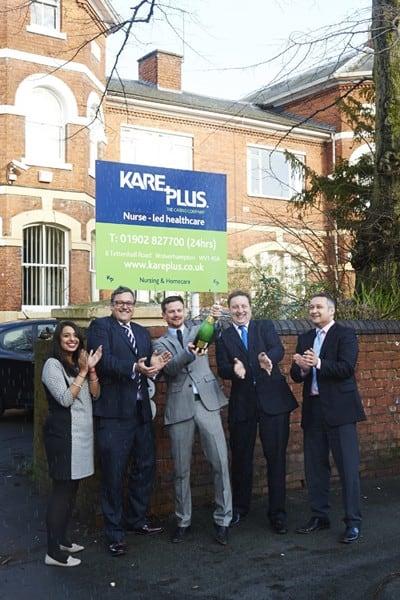 Jamie celebrates million pound turnover with Kare Plus!